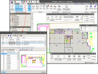IFC Builder. Modelling the building in IFC Builder
